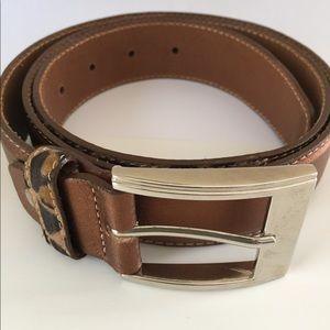 Accessories - Beautiful Leather Bronze Color Belt .